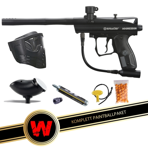 Startpaket Spyder Aggressor RTP Kit i gruppen Paintball / Paintball paket hos Wizeguy Sweden AB (Kingman-gun-0006)