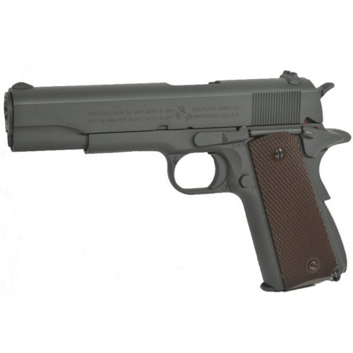 Colt 1911 A1 Parkerized Grey i gruppen Airsoft / Airsoft Pistoler hos Wizeguy Sweden AB (as-cg-gun-0093)