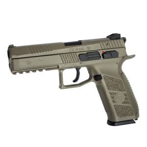 CZ P-09 FDE Full color GBB i gruppen Airsoft / Airsoft Pistoler hos Wizeguy Sweden AB (asg-18137)