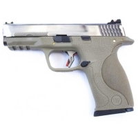 WE Big Bird GBB pistol Tan/Crome