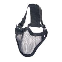 Nätmask i metall, svart i gruppen Airsoft / Skyddsutrustning hos Wizeguy Sweden AB (asg-17316)