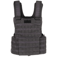 Heavy Tactical Molle II Vest Black